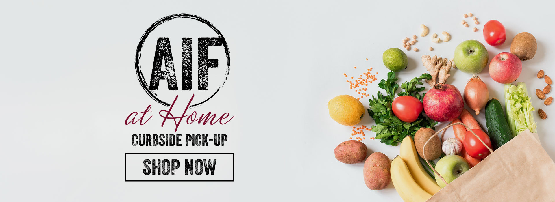 AIF at Home - Curbside Pickup Groceries in Albany, Saratoga, Clifton Park NY